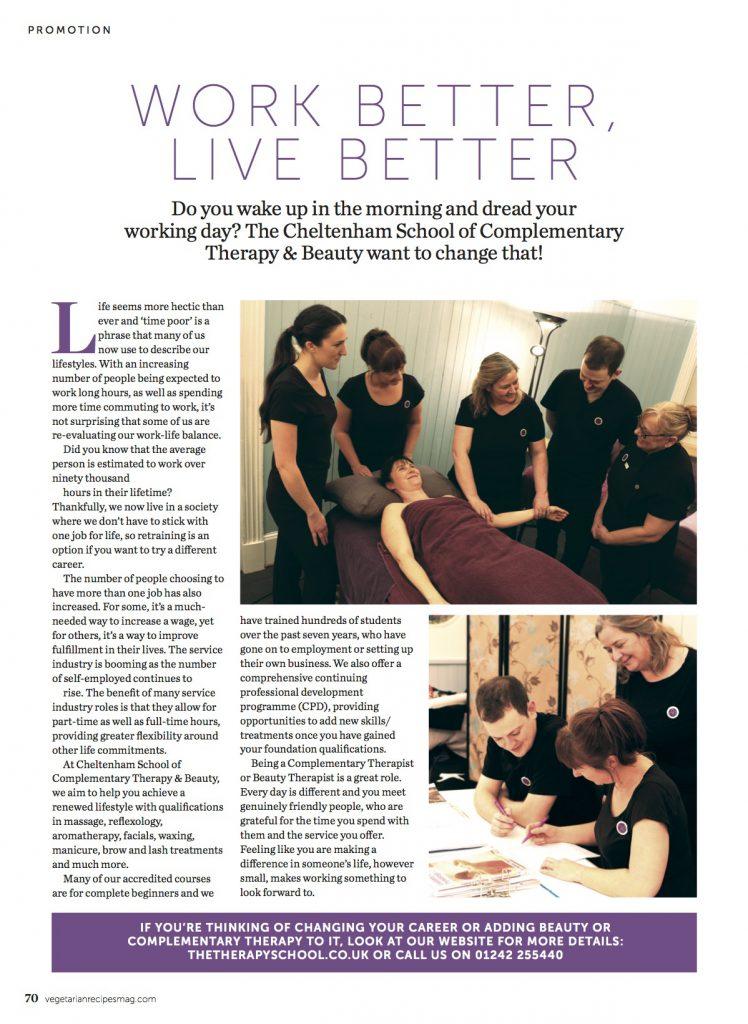 Reflexology, Massage, Aromatherapy & Beauty training in Cheltenham